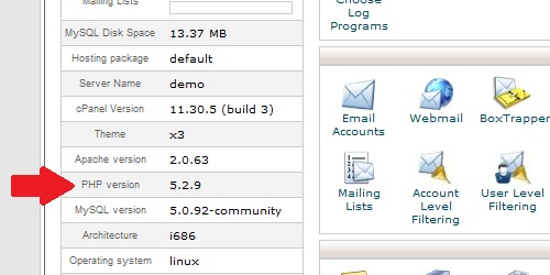 how to change php version in cpanel hostgator