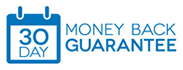 We offer a 30 Day Money Back Guarantee on all hosting plans