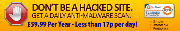 Web Site Anti-Malware Scan