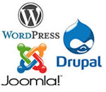 Wordpress Joomla Drupal Hosts