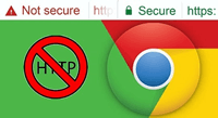 Google Chrome SSL TLS Security Warning